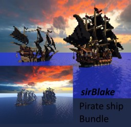 sirBlake, Pirate ship Bundle Minecraft Map & Project