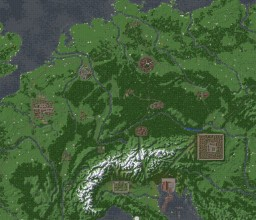 Medieval Central Europe Minecraft Map & Project