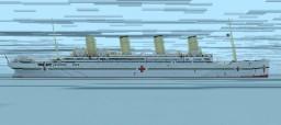 HMHS Britannic (1,7:1) Minecraft