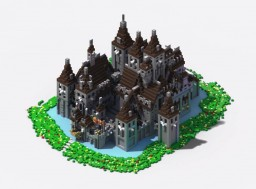 Oakheart Castle II [Schematic] Minecraft