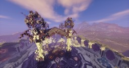 Purple Edge | Fantasy Spawn | Created by Team Sublis Minecraft Map & Project