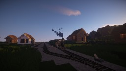 Traincraft map: America Minecraft