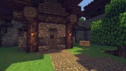 VampireHut (with secret Crypt) Minecraft Map & Project