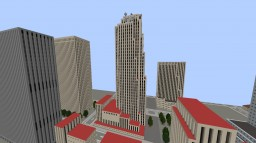 Rockefeller Center (GE. Building) Minecraft Map & Project