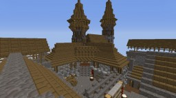 Infernal Realms: Town Persecution Minecraft Project