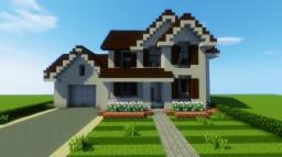 SUBURBAN HOUSE 7 Minecraft Project