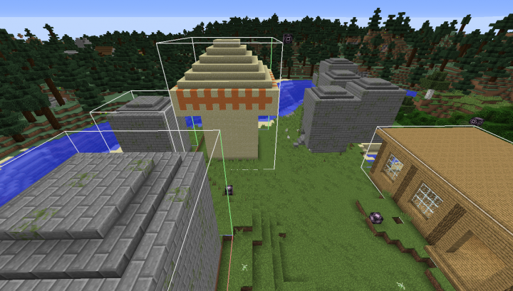 Natually generated structures!