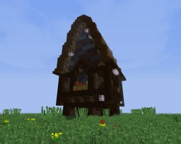 Medieval House (Dark Palette) Minecraft Map & Project