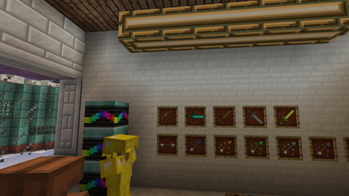 Main street shop 1 with two apartments above minecraft project for Shop with apartment above