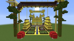 The Golden Temple Minecraft Map & Project