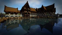 Port Lyaris Fishing village [FR]/[EN] Minecraft Map & Project