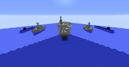 Modern Super Carrier V2 Minecraft Map & Project