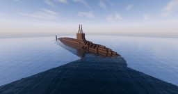 Virginia-class Nuclear Attack Submarine (SSN) Minecraft Map & Project