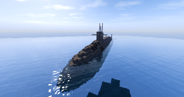 Los Angeles-class Nuclear Attack Submarine (SSN) Minecraft