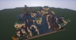 50x50 - The city in the water Minecraft Project