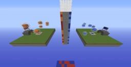 TNT Wars fire vs water Minecraft Map & Project