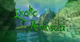Exotic Peninsula | Custom Terrain Minecraft Map & Project
