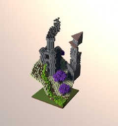 A Render of my Athion TG1 Plot Minecraft Map & Project