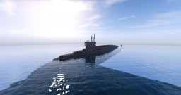 Borei (Borey)-class Nuclear Ballistic Missile Submarine Minecraft Map & Project