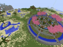 Small Oasis Spawn Minecraft Map & Project