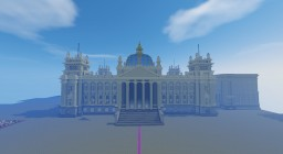 Reichstagsgebäude, Berlin. Minecraft Project