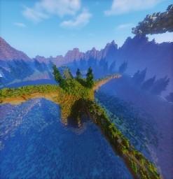 Natural HUB Terrain Minecraft Map & Project