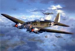 Heinkel He 111 Minecraft Map & Project