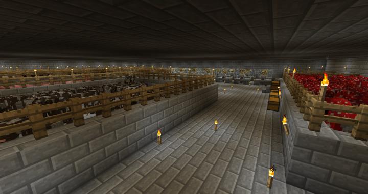 2nd floor of hidden basement animals