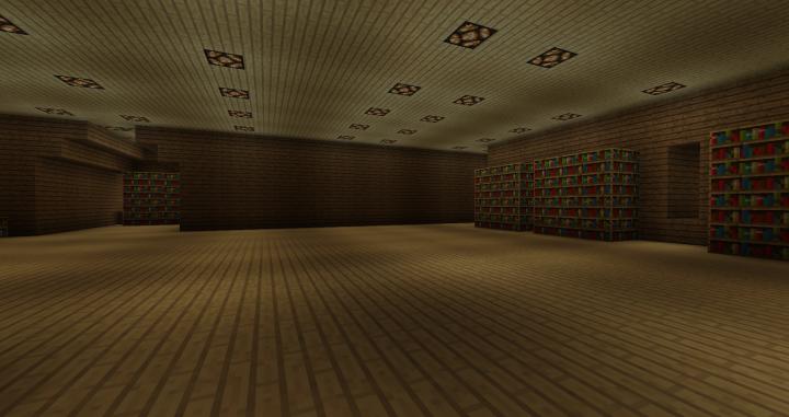 3rd floor library still working on it