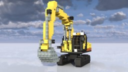 3:1 scale  excavator Minecraft Project