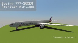 Boeing 777-300ER American Airlines [+Download] Minecraft Map & Project