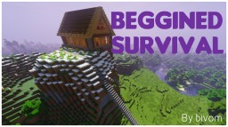 Beggined survival Minecraft Map & Project