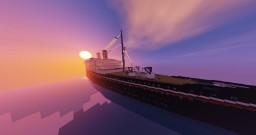 "SS Vasil Levski / Презокеански параход ""Васил Левски"" Minecraft Map & Project"