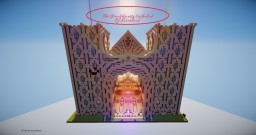 {}The Grand Quartz Cathedral Of Mineland{} Minecraft Project
