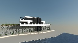 Modern Beach House | FLAC Minecraft Map & Project