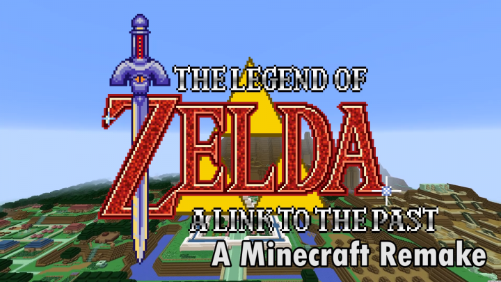 The Legend of Zelda: A Link to the Past Adventure Map - By Illumafire