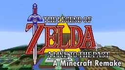 The Legend of Zelda: A Link to the Past Adventure Map (WIP) Minecraft