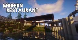 Modern restaurant Minecraft