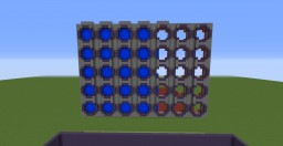 Connect Four Minigame Minecraft Map & Project