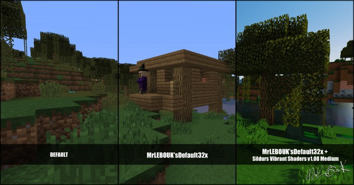 Marais hutte