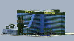 MGM grand Hotel & Casino - Las Vegas Minecraft Map & Project