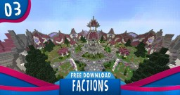 FACTIONS + SHOP SPAWN [FREE MAP DOWNLOAD] [22] Minecraft Project