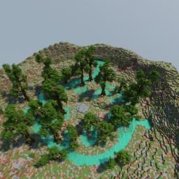 Pirate Terrain Minecraft Map & Project
