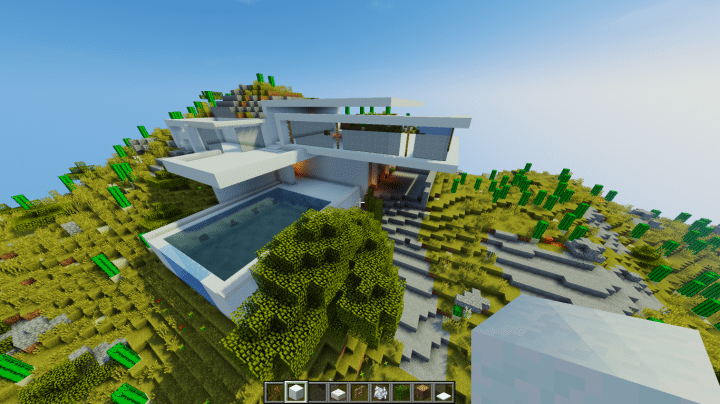 Hillside House *KB* Minecraft Map