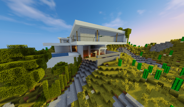 Hillside House *KB* Minecraft Project