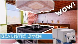Minecraft - How To Make A Realistic Oven Minecraft