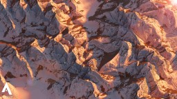 Snowy Mountain ridges [2.4k test map] Minecraft