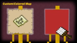 Minecraft - How to make a Custom / Colored Map Minecraft Blog