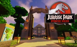 Official Jurassic Park: Operation Genesis texture pack v.1.2 | 32x | 1.10.2 | Minecraft Texture Pack