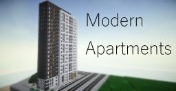 Luxury Modern Seaside Apartments Minecraft Project